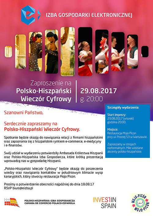 Polsko-Hiszpański wieczór cyfrowy z e-Izbą