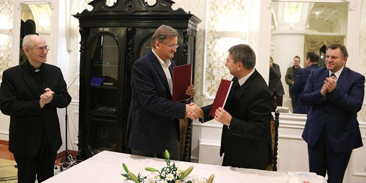 Porozumienie pomiędzy Instytutem Naukowo-Badawczym Sebastianeum Silesiacum a Przedsiębiorstwem Uzdrowisko Ciechocinek S.A.
