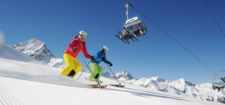 Sesja narciarska do Pampeago