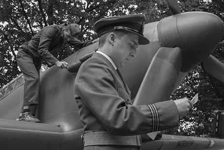 """Kadr z filmu """"Dywizjon 303"""" w reżyserii Sławomira W. Malinowskiego"""