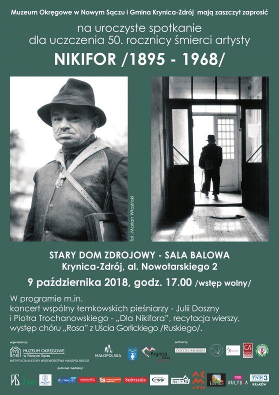 Obchody 50. rocznicy śmierci wybitnego malarza Nikifora Krynickiego