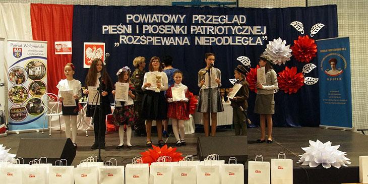 """Przegląd Pieśni i Piosenki Patriotycznej """"Rozśpiewana Niepodległa"""""""