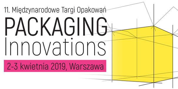 Międzynarodowe Targi Opakowań Packaging Innovations - 2-3 kwietnia 2019
