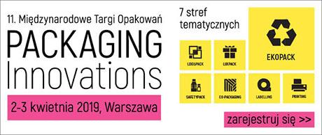 Międzynarodowe Targi Opakowań Packaging Innovations