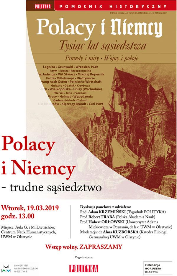 Polacy i Niemcy. Trudne sąsiedztwo