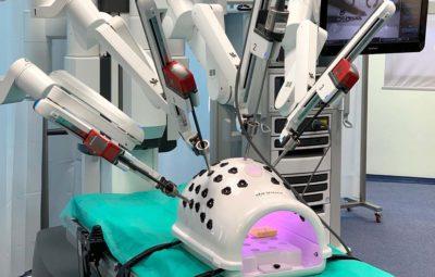 Robot chirurgiczny Da Vinci