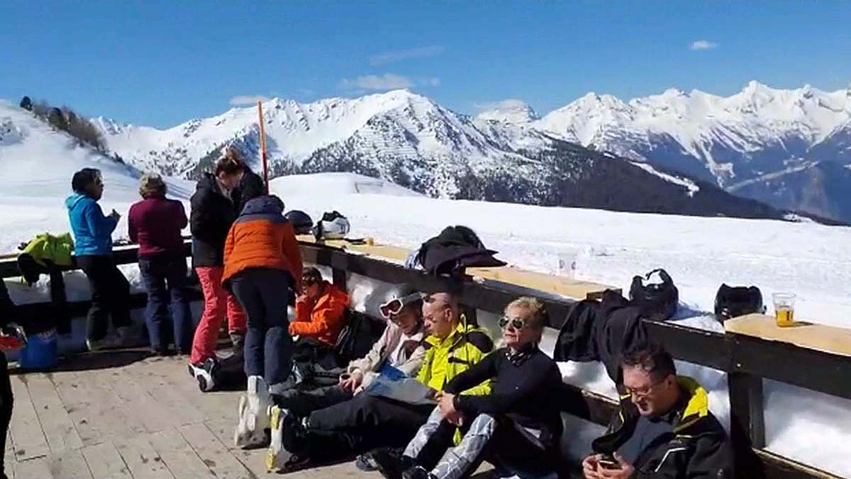 Narciarskie pozdrowienia ze Szwajcarii