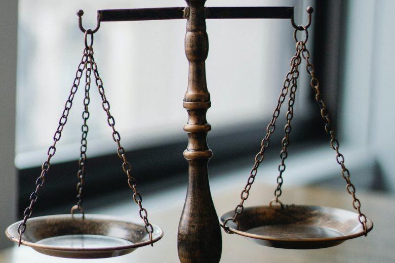 Waga - symbol sprawiedliwości