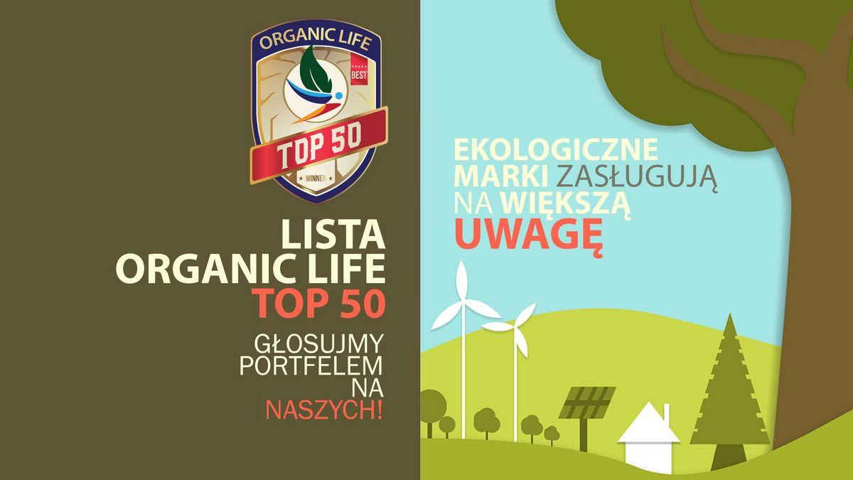 Lista ORGANIC LIFE TOP 50