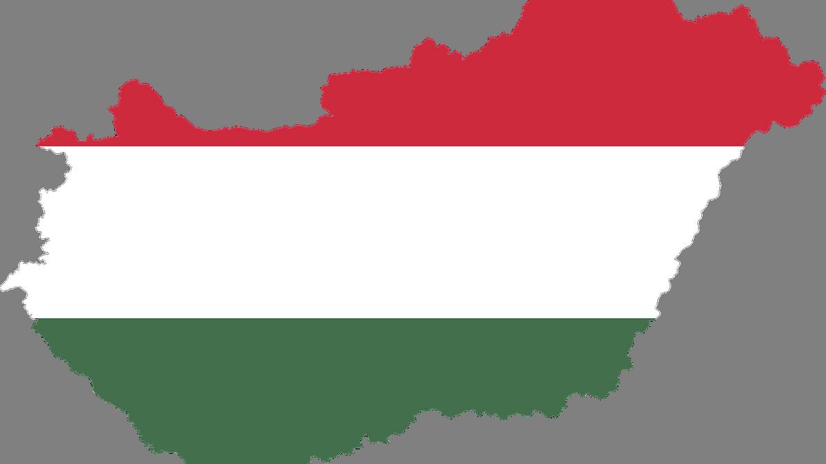 Mapa Węgier