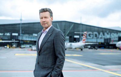 Tomasz Kloskowskim - prezes zarządu Portu Lotniczego Gdańsk im. Lecha Wałęsy
