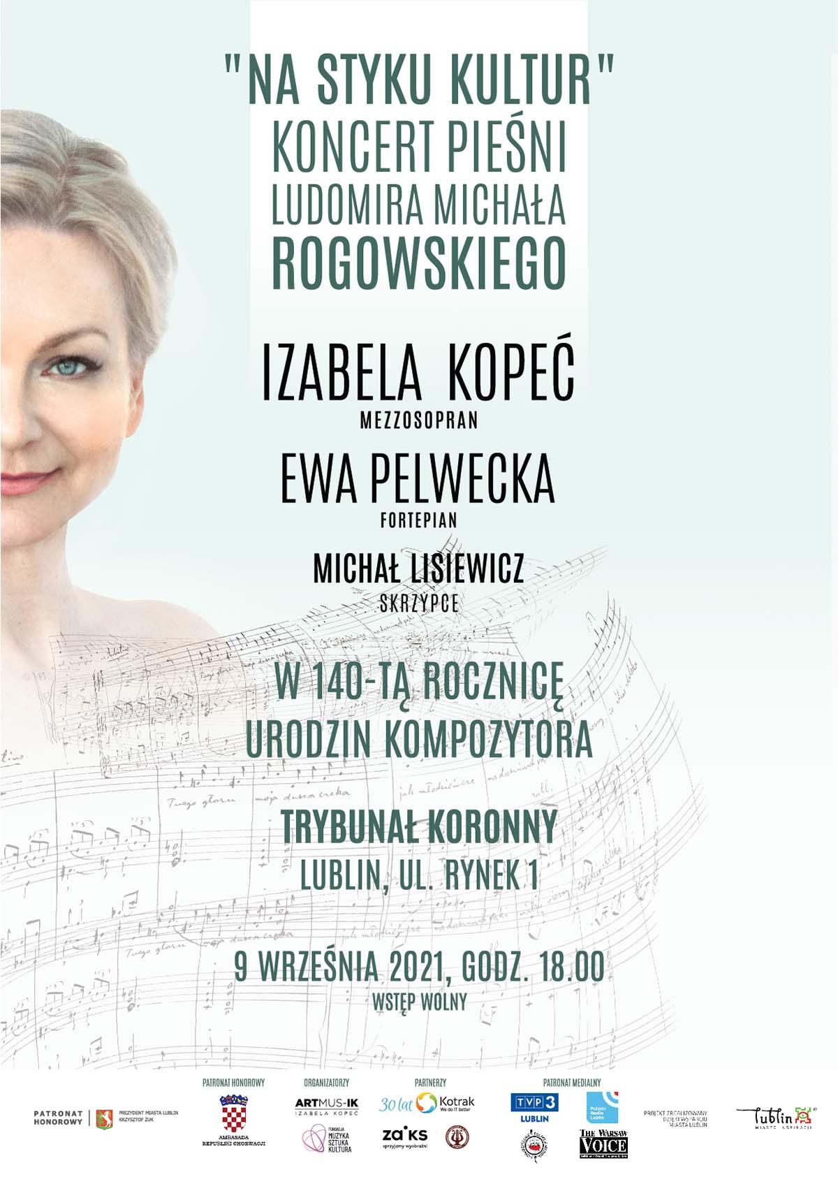 Koncert pieśni Ludomira Michała Rogowskiego