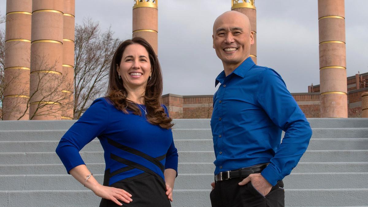 Dr Isabel i Dr Jyun
